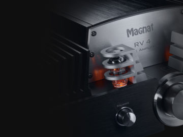 RV 4 – High-end hybrid integrated amplifier with valve pre-stage and Bluetooth aptX